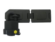 Yale Locks YALY22051HSP - Y220 51mm Hinged Hasp & Weatherproof Padlock Set