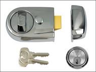 Yale Locks YALY3CHCH60 - Y3 Nightlatch Modern 60mm Backset Polished Chrome Finish Visi