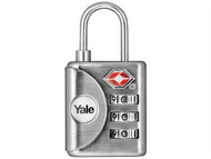 Yale Locks YALYTP132 - YTP1 TSA Combination Padlock 32mm