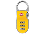 Yale Locks YALYTP226 - TSA Clip On Padlock (Mixed Colour) 26mm