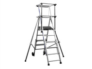 Zarges ZAR2272251 - Sherpascopic Height Adjust Podium Platform Height 1.06 - 1.53m 4 - 6 Rungs