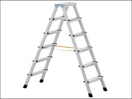 Zarges ZAR41263 - Anodised Double Sided Steps Open 0.71m 2 x 3 Rungs