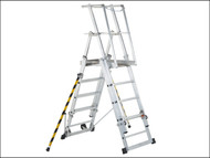 Zarges ZAR41327 - ZAP 2 Access Platform Platform Height 1.3/1.6/1.8/2.1/2.4m 5-9 Rungs