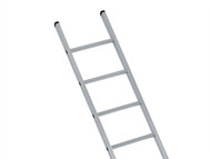 Zarges ZAR41547 - Industrial Single Aluminium Ladder 2.21m 7 Rungs