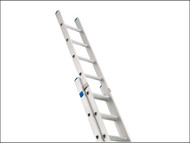 Zarges ZAR49850 - Industrial Extension Ladder 2-Part D Rungs 2 x 8