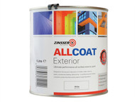 Zinsser ZINACEWH1L - ALLCOAT Exterior White Primer / Finish 1 Litre