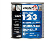 Zinsser ZINBE1231L - 123 Bulls Eye Primer / Sealer Paint 1 Litre