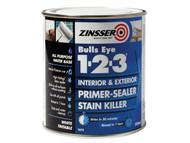 Zinsser ZINBE123500 - 123 Bulls Eye Primer / Sealer Paint 500ml