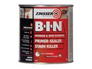 Zinsser ZINBIN1L - B.I.N Primer / Sealer Stain Killer Paint 1 Litre