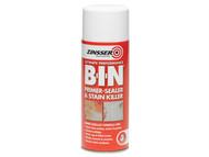 Zinsser ZINBIN400A - B.I.N Primer / Sealer Stain Killer Aerosol 400ml