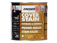 Zinsser ZINCSP25L - Cover Stain Primer / Finish Paint 2.5 Litre