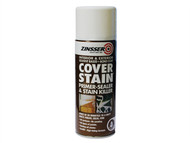 Zinsser ZINCSP400A - Cover Stain Primer / Finish Aerosol 400ml
