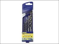 IRWIN IRW10501939 - Multi-Purpose Cordless Drill Bit Set 5 Piece 5-10mm