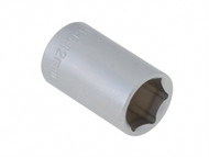 Faithfull FAISOC3812 - Hexagon Socket 3/8in Drive 12mm