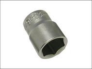 Faithfull FAISOC3822 - Hexagon Socket 3/8in Drive 22mm