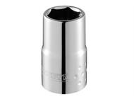 Britool Expert BRIE117353B - Hexagon Socket 6 Point Regular 1/4in Drive 13mm