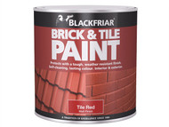 Blackfriar BKFBTMR500 - Brick & Tile Paint Matt Red 500ml