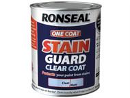 Ronseal RSLSGCCM750 - One Coat Stain Guard Clear Coat Matt 750ml