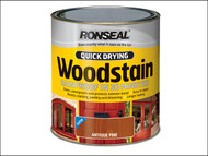 Ronseal RSLQDWSSW750 - Woodstain Quick Dry Satin Smoked Walnut 750ml