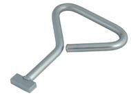 Dickie Dyer DDY15028 - Heavy-Duty Manhole Cover Key 5.5in