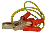 Dickie Dyer DDY90011 - Earthing Cable with Crocodile Clips 4ft / 1200mm