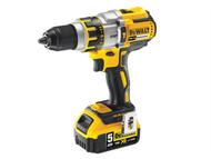 DEWALT DEWDCD995P2B - DCD995P2B XR Brushless Hammer Drill 18 Volt 2 x 5.0Ah Bluetooth Li-Ion
