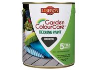 Liberon LIBDPGM25L - Decking Paint Gun Metal 2.5 Litre