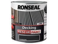 Ronseal RSLDRPCH5L - Decking Rescue Paint Charcoal 5 Litre