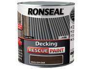 Ronseal RSLDRPEO5L - Decking Rescue Paint English Oak 5 Litre