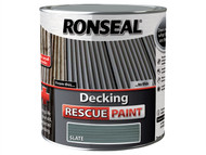Ronseal RSLDRPS5L - Decking Rescue Paint Slate 5 Litre