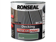 Ronseal RSLDRPW5L - Decking Rescue Paint Willow 5 Litre