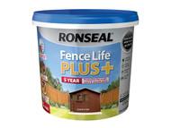 Ronseal RSLFLPPCO5L - Fence Life Plus+ Country Oak 5 Litre