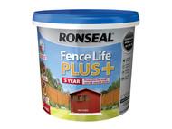Ronseal RSLFLPPRC5L - Fence Life Plus+ Red Cedar 5 Litre