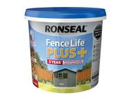 Ronseal RSLFLPPS5L - Fence Life Plus+ Slate 5 Litre