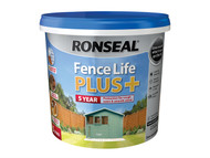 Ronseal RSLFLPPSA5L - Fence Life Plus+ Sage 5 Litre