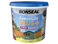 Ronseal RSLFLPPW5L - Fence Life Plus+ Willow 5 Litre