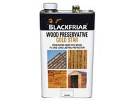 Blackfriar BKFNGSWPDB5L - EXT Wood Preserver Gold Star Dark Brown 5 Litre