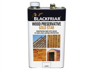Blackfriar BKFNGSWPEB5L - EXT Wood Preserver Gold Star Ebony 5 Litre