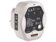 Laserliner L/L083027A - Socket Tester Plus - Professional Wiring & RCD Tester