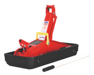 Sealey 1100CXD Trolley Jack 2tonne Short Chassis with Storage Case