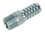 "Sealey AC09 Screwed Tailpiece Male 1/4""BSPT - 3/8"" Hose Pack of 5"
