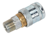 """Sealey AC23 Coupling Body Male 1/2""""BSPT"""