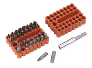Sealey AK110 Bit & Magnetic Adaptor Set 33pc
