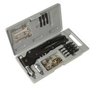 Sealey AK396 Blind Nut & Stud Riveting Kit