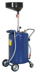 Sealey AK458DX Mobile Oil Drainer 110ltr Air Discharge