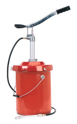 Sealey AK45X Bucket Greaser with Follower Plate 12.5kg Heavy-Duty