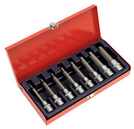 "Sealey AK9310 Hex Socket Bit Set 8pc 1/2""Sq Drive Metric"