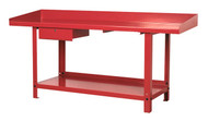 Sealey AP1020 Workbench Steel 2mtr with 1 Drawer
