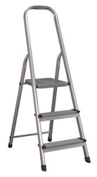 Sealey ASL3S Aluminium Step Ladder 3-Tread EN 131