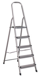Sealey ASL5 Aluminium Step Ladder 5-Tread EN 131